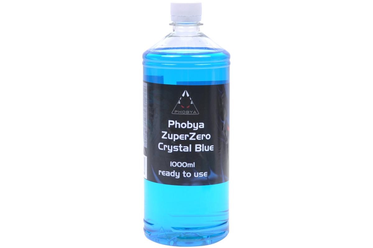 liquide de protection zuperzero 1 litre bleu phobya watercooling liquide de. Black Bedroom Furniture Sets. Home Design Ideas