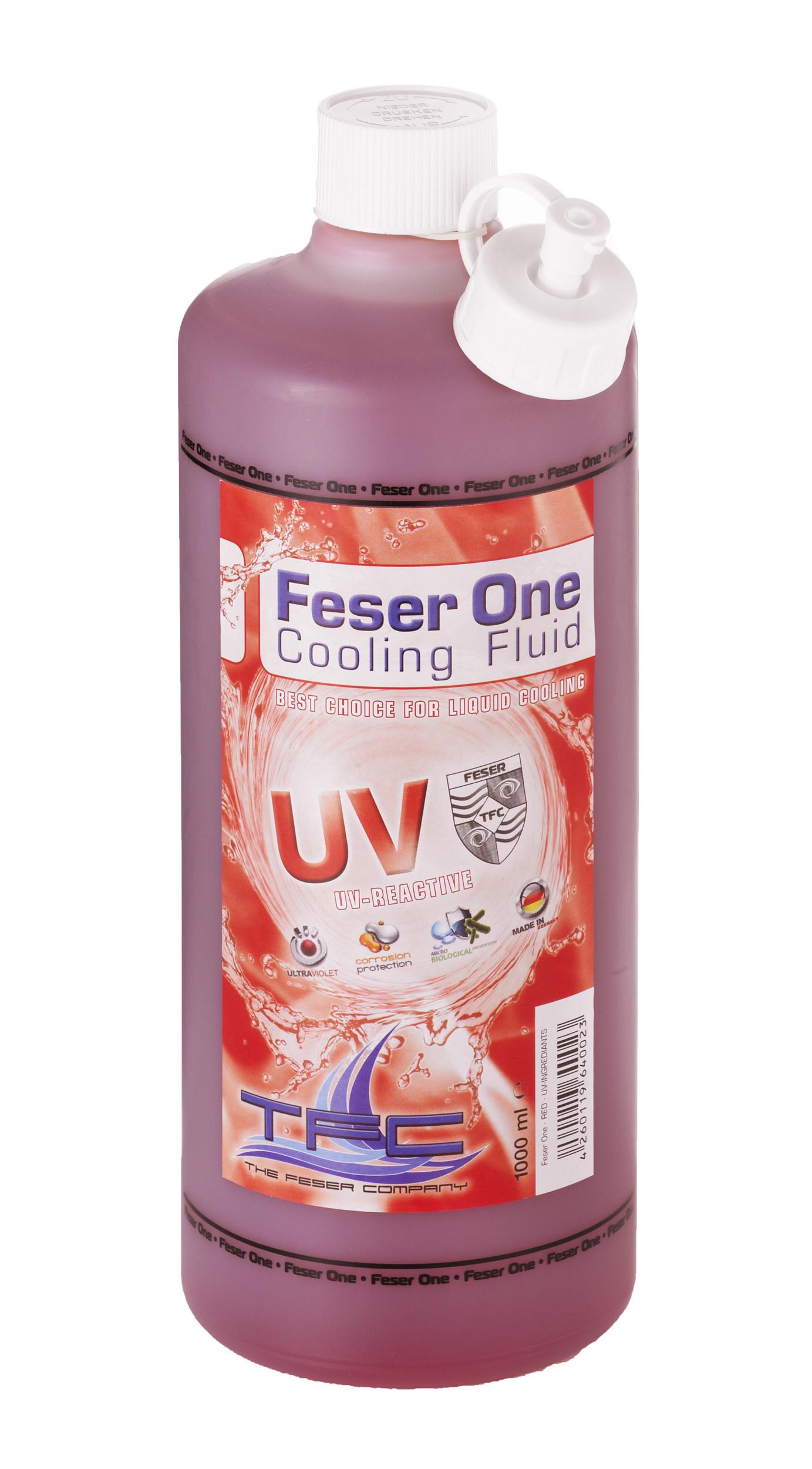 liquide de protection feser one cooling fluid r actif aux uv rouge 1 litre the feser company. Black Bedroom Furniture Sets. Home Design Ideas