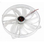 Akasa-Ventilateur Crystal Clear 220mm à LED BLeu AK-F2230SM-CB