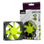 Coolink-Ventilateur 80*80*25mm SWiF2-80P (PWM) - 19 dB, 30.7 CFM