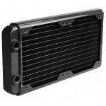 HWLabs-Radiateur Black ICE GT Stealth 240 Noir Filetage 1/4""