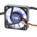 NoiseBlocker-BlackSilentFan XM2 40*40*10mm, 14dB, 3.9CFM, connect. 3 pins carte mère BOITE