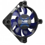 NoiseBlocker-BlackSilentFan XS1 50*50*10mm, 16.3dB, 6.8CFM, connect. 3 pins carte mère BOITE