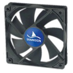 Sharkoon-Ventilateur 140*140*25mm System Fan Silent S1402590S-3 - 22 dB, 34.5CFM