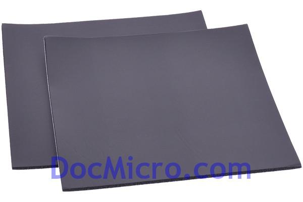 mousse insonorisante noisebuster 30x30cm 5mm kit de 2pcs. Black Bedroom Furniture Sets. Home Design Ideas