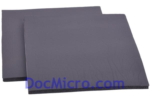 mousse insonorisante noisebuster 30x30cm 10mm kit de 2pcs. Black Bedroom Furniture Sets. Home Design Ideas